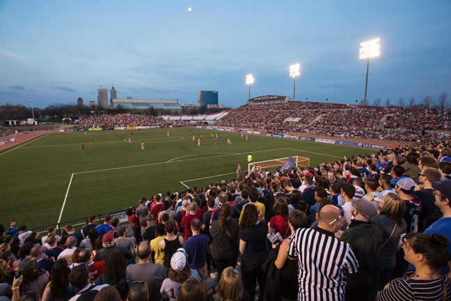 Sports - Indy Eleven Field